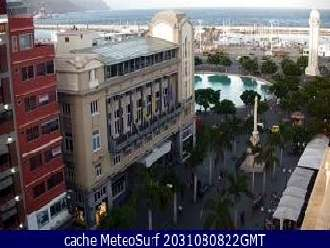 Webcam Plaza de la Candelaria