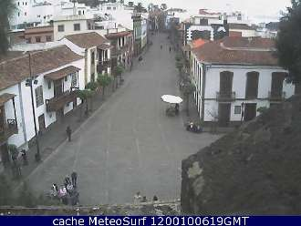 Webcam Teror Plaza del Pino