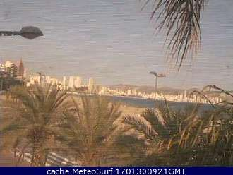 Webcam Benidorm Poniente