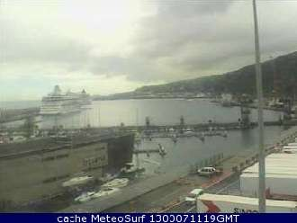 Webcam Santa Cruz de la Palma Harbour