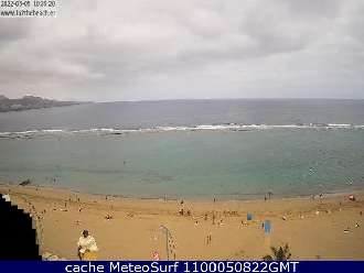 Webcam Las Canteras Barra