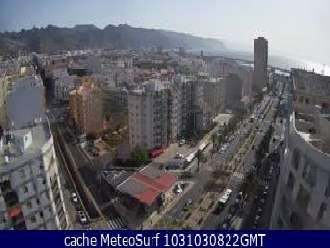 Webcam Santa Cruz de Tenerife Ciudad