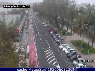 Webcam León y Castillo Hotel