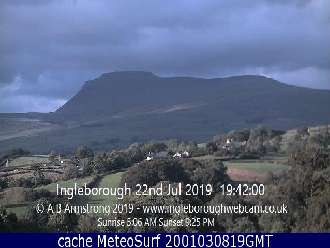 Webcam Ingleborough