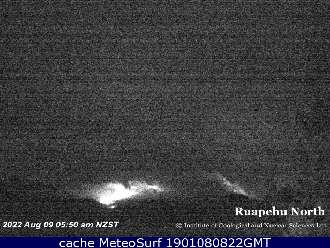 Webcam Mt Ruapehu