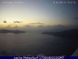 Webcam Santorini