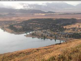 Webcam Lake Tekapo Village