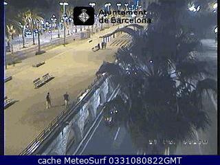 Webcam Barcelona Ronda Litoral