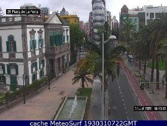 Webcam Paseo de Chil Escaleritas