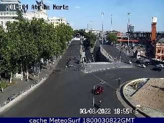 Webcam Glorieta Atocha Norte