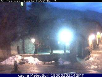 Webcam Benasque Plaza