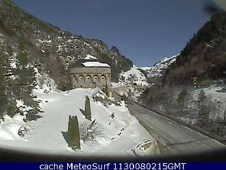 Webcam Canfranc Jacetania