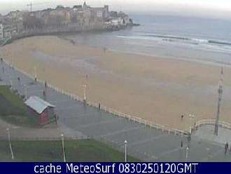 Webcam Gijon - San Lorenzo