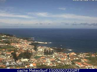 Webcam Santa Cruz da Graciosa