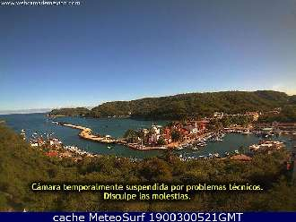 Webcam Huatulco Marina