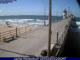 Webcam Huntington Beach Pier