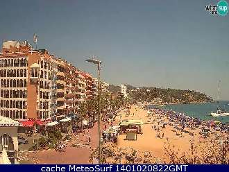 Webcam Gerona Lloret del Mar