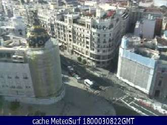 Webcam Madrid Calle Alcalá