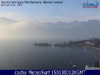 Webcam Malcesine Windsurf