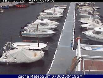 Webcam Girona Nautic Port la Selva