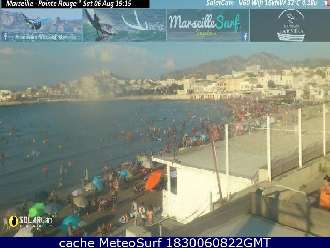 Webcam Marsella
