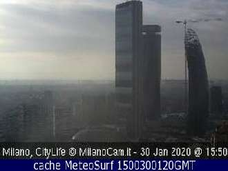 Webcam Milano Isozaki