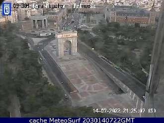 Webcam Moncloa Princesa Madrid