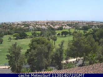 Webcam Orihuela Golf