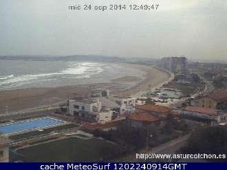Webcam playa de salinas avil s asturias playas tiempo en - Tiempo en salinas castrillon ...