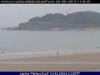 Webcam Playa de Somo