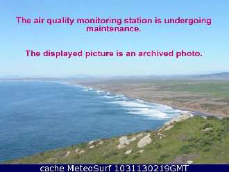 Webcam Point Reyes Beach