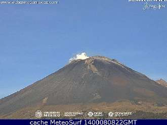 Webcam Popocatepetl