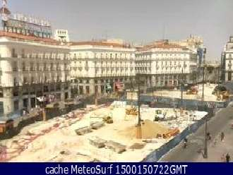 Webcam Puerta del Sol Madrid