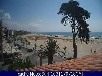 Webcam Torredembarra Baix a Mar
