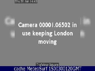 Webcam London Trafalgar Square