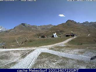 Webcam Valtournenche-Salette Ski