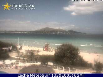 Webcam Alcudia Mallorca Playa Muro