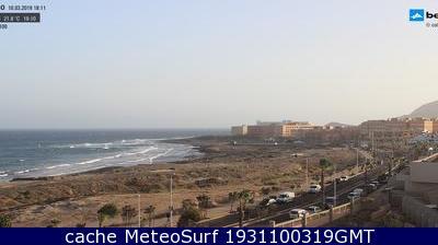 webcam El Médano Cabezo Santa Cruz de Tenerife