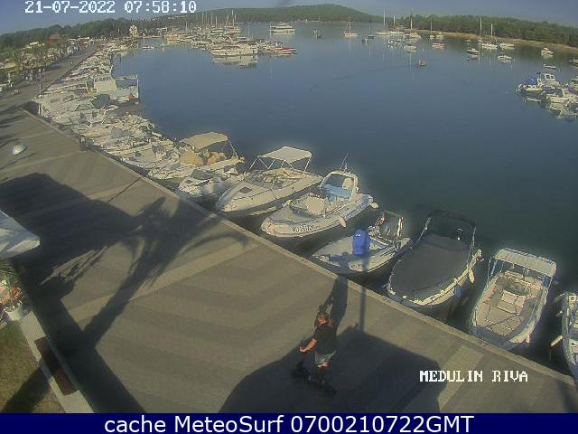 webcam Medulin Port Istria