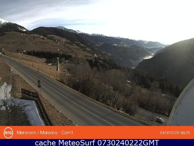 webcam Meransen Bolzano