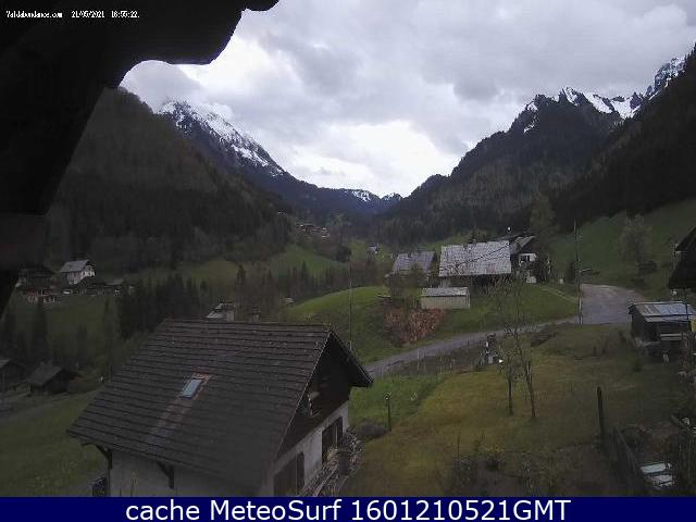 webcam Abondance Haute Savoie