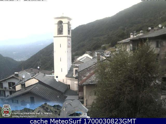 webcam Albaredo Sondrio