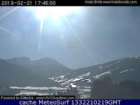 webcam Anterselva Hotel Bolzano