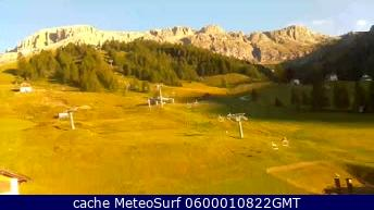webcam Arabba Burz Belluno