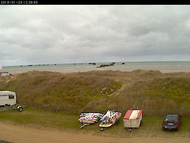 webcam Asnelles Calvados