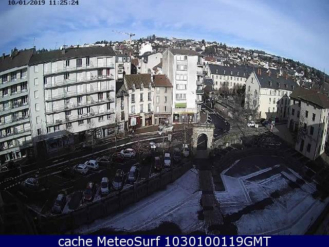 webcam Aurillac Cantal
