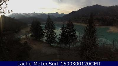 webcam Lago di Barcis Pordenone