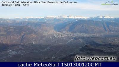 webcam Bolzano Panoramica Bolzano