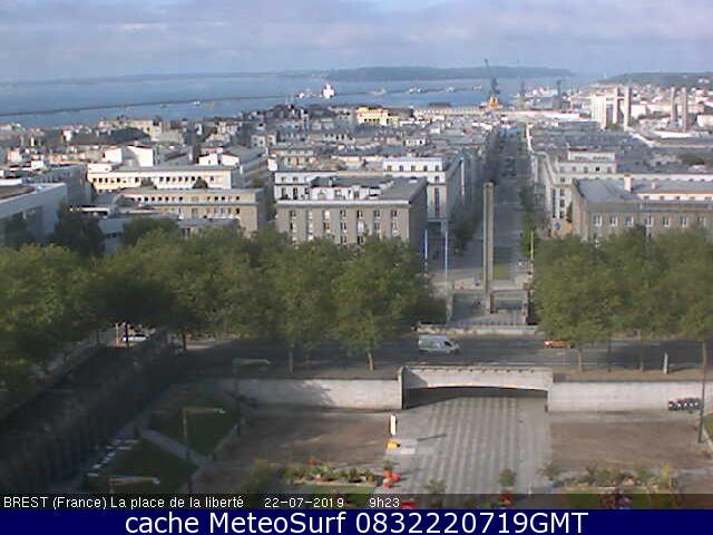 webcam Brest Finistère