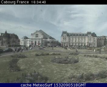 webcam Cabourg Calvados